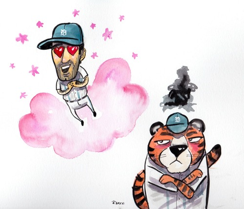 Verlander in love, but not with Paws