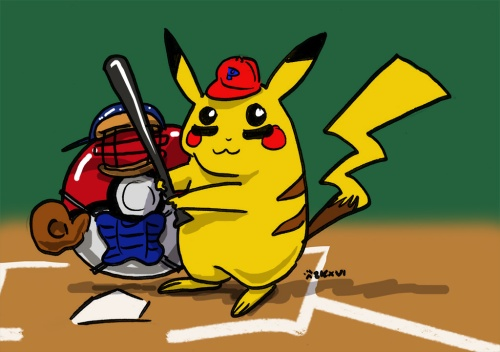 pokemon baseball