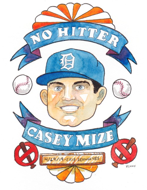 Casey Mize no hitter victory seal